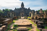 Beautiful sunny day in Prasat Bakong Temple - Siem Reap, Cambodia - 247662808