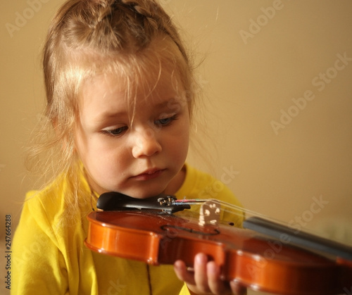 girl learn to play violin | Buy Photos | AP Images | DetailView