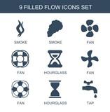 9 flow icons - 247707489