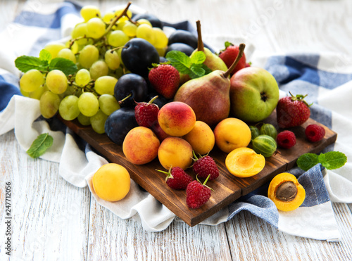 Fresh summer fruits - 247712056