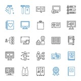 personal icons set - 247723473