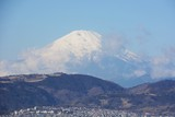 Mt.Fuji seen from Hadano city, Japan Kanagawa Prefecture