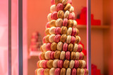 Pyramid of French Macarons - 247739249