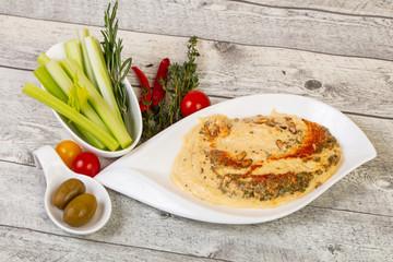 Vegan cuisine - Humus