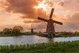 Windmills in Kinderdijk - Netherlands - 247761091