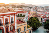 morning bastion of the city of Cagliari and the view from it with a panorama of the city of Sardinia - 247766873