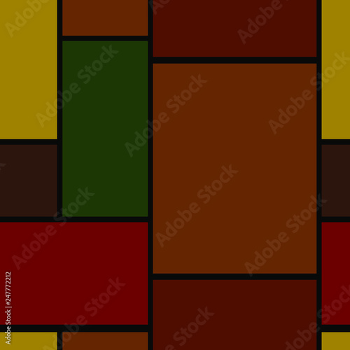 seamless geometric background with rectangles © Natali