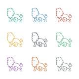 lion icon white background