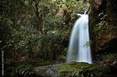 Natural beautiful waterfall