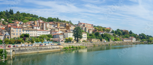 Cityscape of Trevoux, France - 247798280