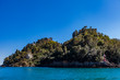 Quadro Portofino bay in Italy