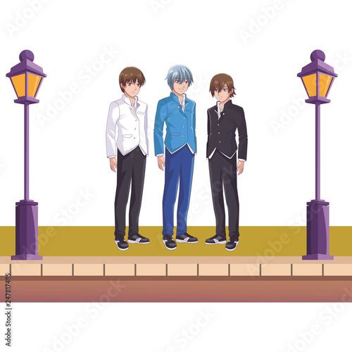 anime manga men - 247817485