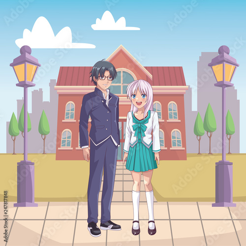 couple anime manga - 247817848