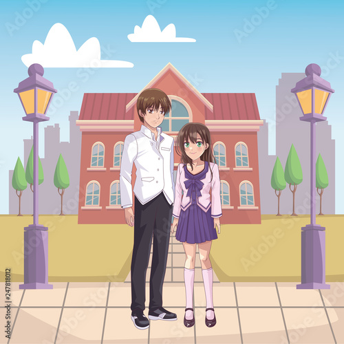 couple anime manga - 247818012