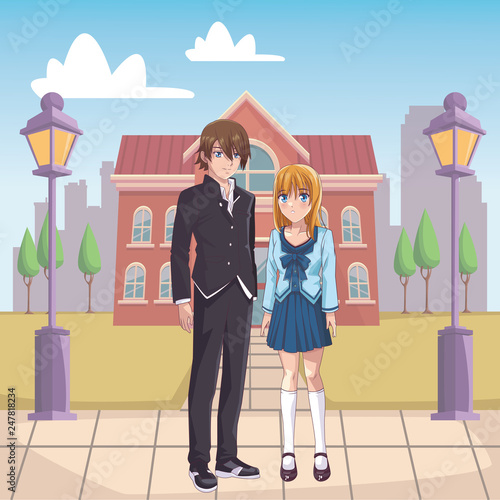 couple anime manga - 247818234