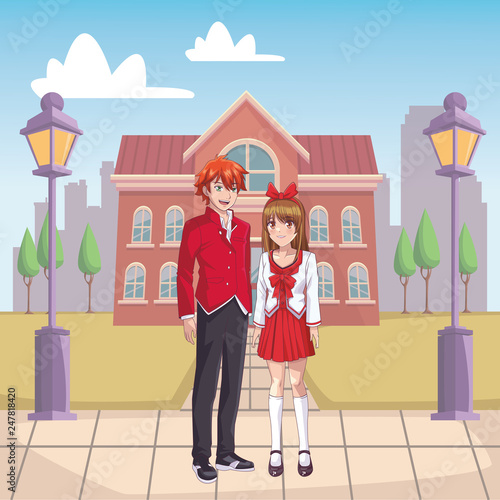couple anime manga - 247818420