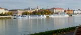 Panorama of Bratislava with Danube