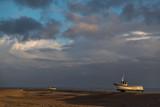 Sunrise Fishing Ships