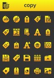copy icon set - 247854231