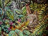 Mosaic Art of a Rabbit - 247855011
