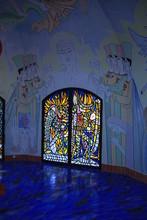 "Постер, картина, фотообои ""dans la chapelle de Notre Dame de Jerusalem"""