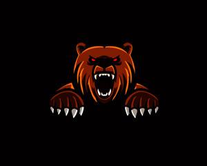 mascot logo illustration esport