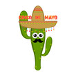 Poster of cinco de mayo. Vector illustration design