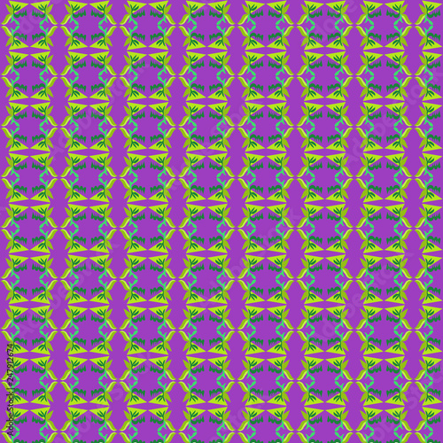Mixed pattern original design and digital drawing. It can be used in web, wallpaper, ceramic and fabric designs - 247912674