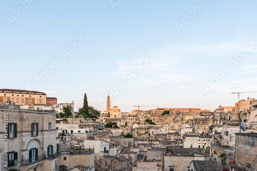 fototapeta na ścianę Sassi of Matera. UNESCO World Heritage Site