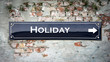 Sign 390 - Holiday