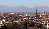 VICENZA in Northern Italy and the famous monument called BASILIC