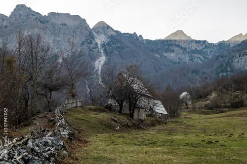 Hiking Albanian Alps, Theth to Valbone