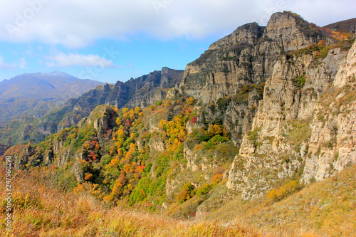 mountain natural scenery - 247960298