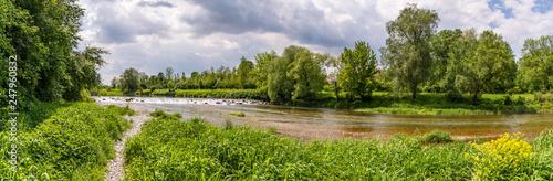 river Traisen near Herzogenburg, Lower austria - 247960832
