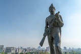 defender of the nation statue in Chapultepec Castle Mexico city