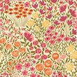 Cute seamless floral pattern with small flower - 247992477