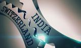 India Switzerland - Mechanism of Metallic Gears. 3D.