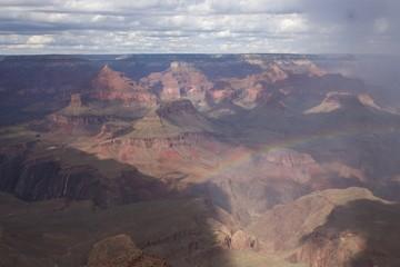 Rainbow Above the Grand Canyon © Lynn