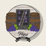 Wine club emblem - 248011230