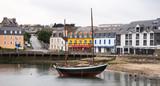 Voilier port de Camaret sur Mer Finistère Bretagne France