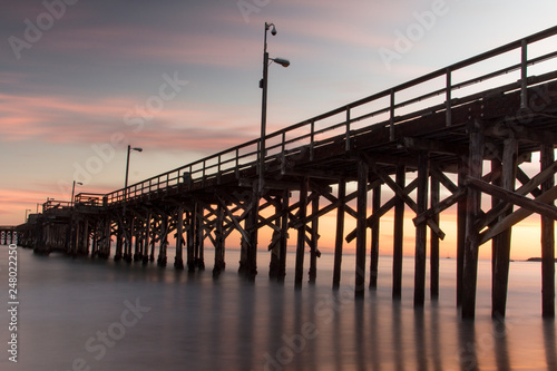 California pier at sunset © ANGELA