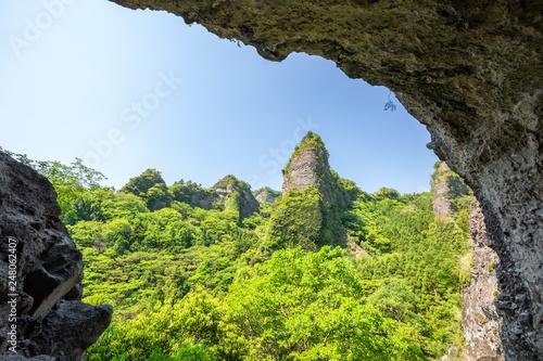 大不動岩屋からの眺め © 安ちゃん