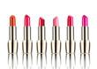 Leinwandbild Motiv lipstick beauty make up