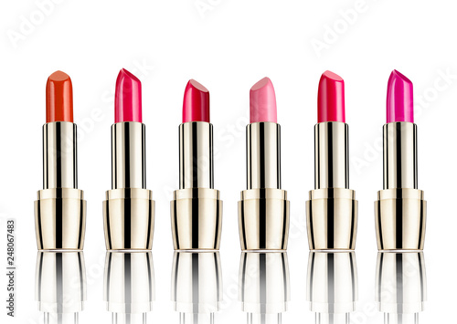 Leinwandbild Motiv lipstick beauty make up