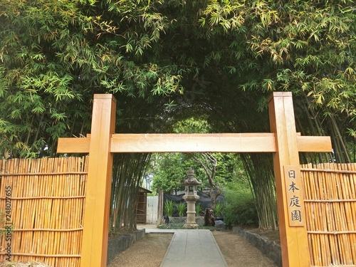 entrance to garden - 248077655