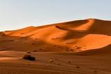 sand dunes in desert, photo as background - 248077822