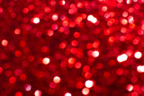 Bokeh lights red texture. New year background. - 248086406