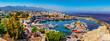 Leinwandbild Motiv Kyrenia marina in Cyprus