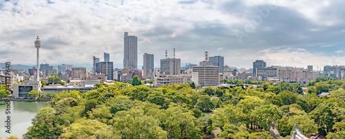 広島城天守からの広島市街地の眺望 - 248127648