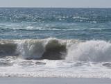 Vague de l'océan Atlantique
